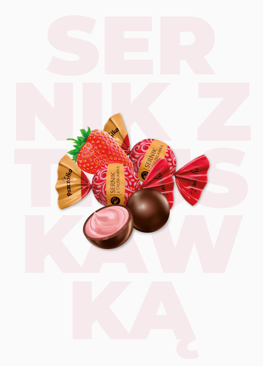 Czekoladowe Inspiracje – Sernik z truskawką - Zdjęcie