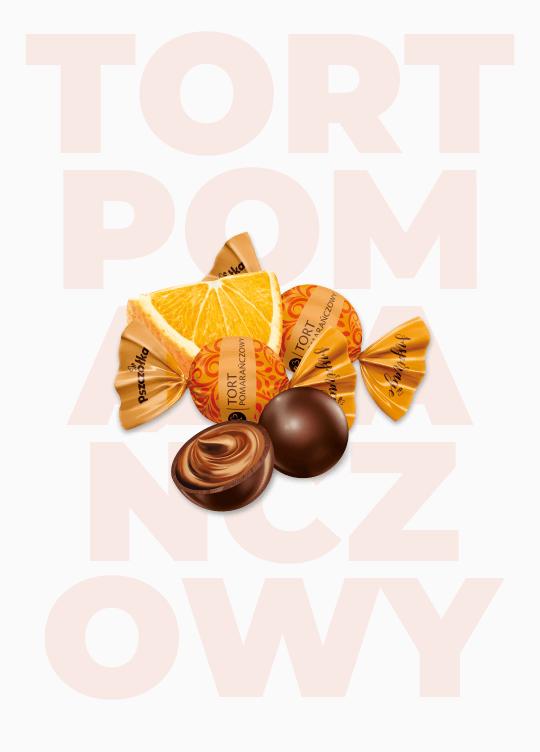 Czekoladowe Inspiracje – Tort Pomarańczowy - Zdjęcie
